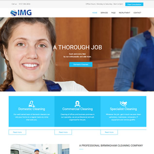 Visit IMG Cleaning Services website